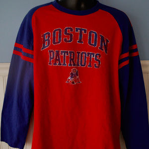 hot sale online b7710 db8f4 NFL Team Apparel Shirts - VTG NFL BOSTON PATRIOTS LONG SLEEVE T SHIRT LARGE